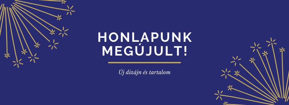 Új weboldal!